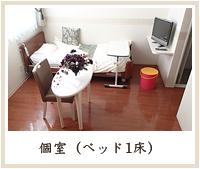 個室(ベッド1床)